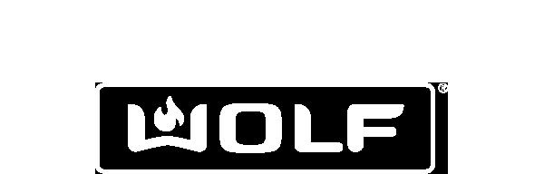 Subzero wolf logo white