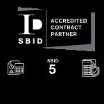 SBID Accredited contract partner logo black