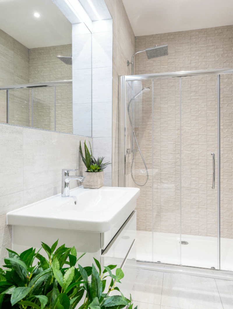 Alderbrook Road project Modern Shower room
