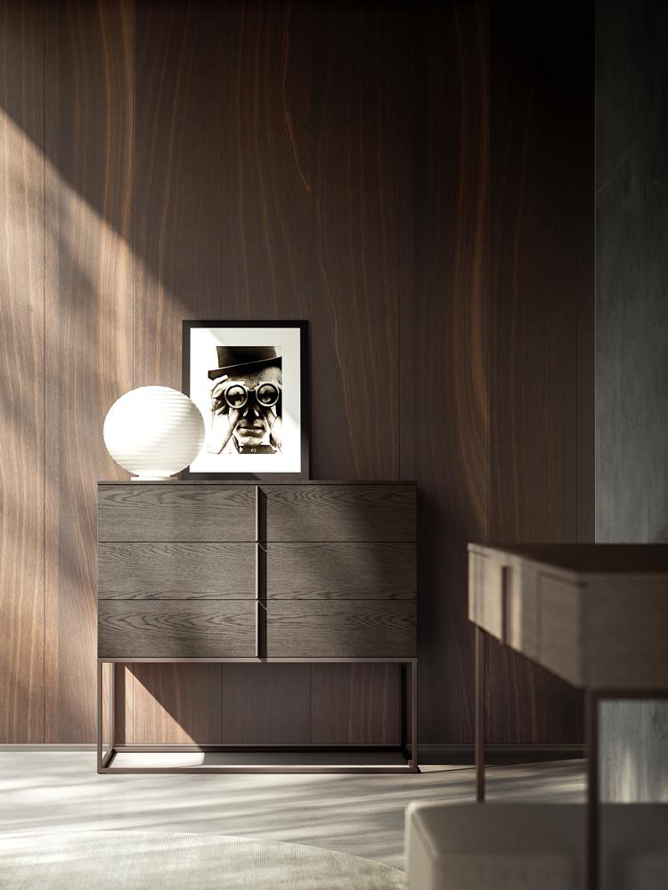 Jesse Italian furniture modern side table