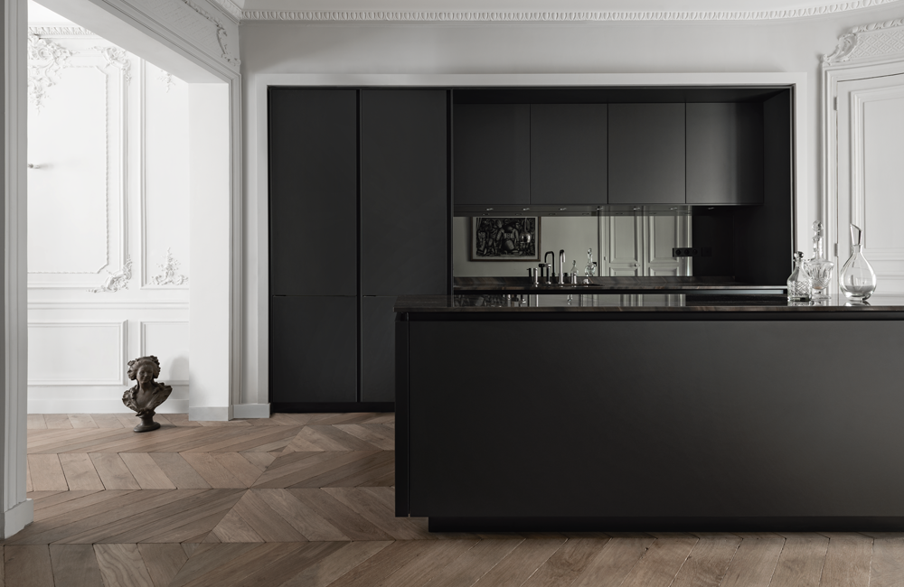SieMatic PURE kitchen in black