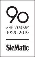 SieMatic 90th Anniversary logo black